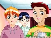 Rosa Dildo Spielzeug für haarige Muschi anime