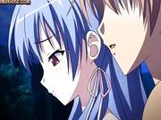 Gut aussehende anime gibt Blowjob