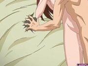 Hentai Schulmädchen wird von hinten gefickt