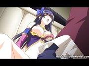Netter Anime Pussy mit Sperma gefüllt